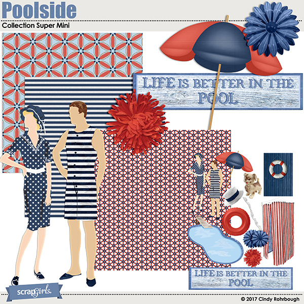 Poolside Collection Super Mini by Cindy Rohrbough