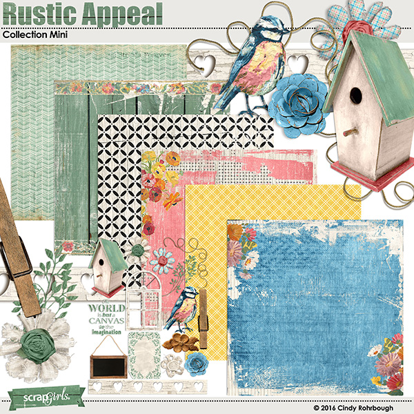 Rustic Appeal Collection by Cindy Rohrbough