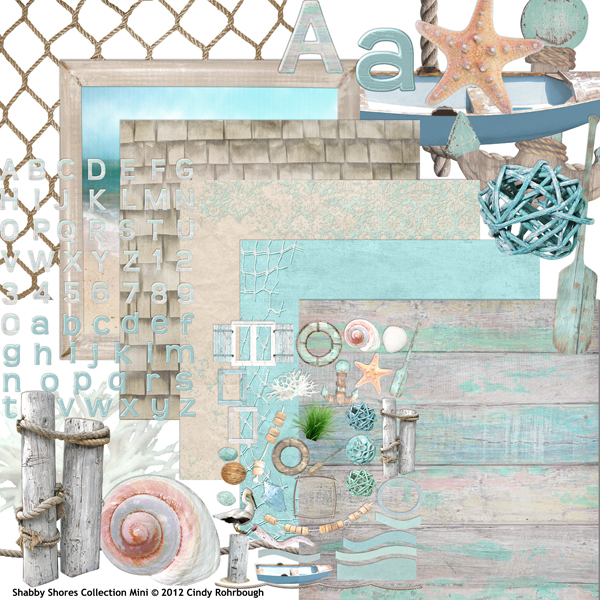 Shabby Shores Collection Mini