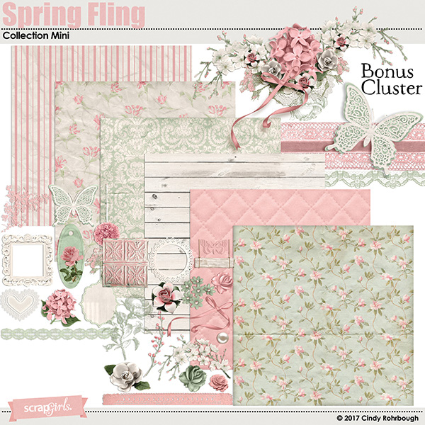 Spring Fling Collection Super Mini by Cindy Rohrbough