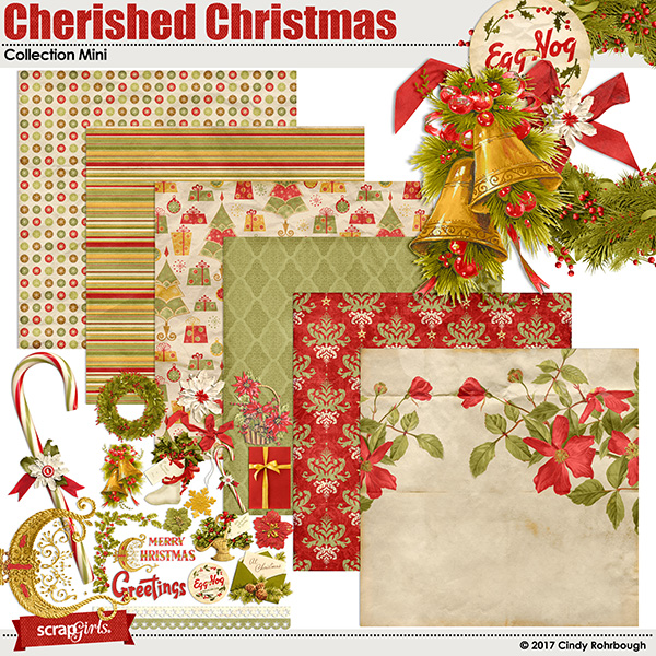 Cherished Christmas Collection Mini By Cindy Rohrbough