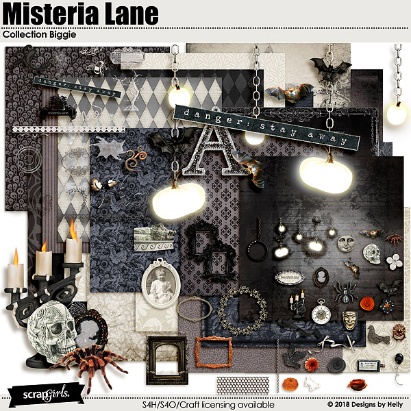 Misteria Lane Collection Biggie by Designs by Helly