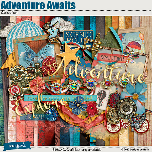 Adventure Awaits by Designs by Helly