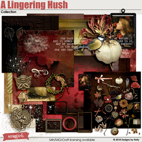 A Lingering Hush Collection by Designs by Helly