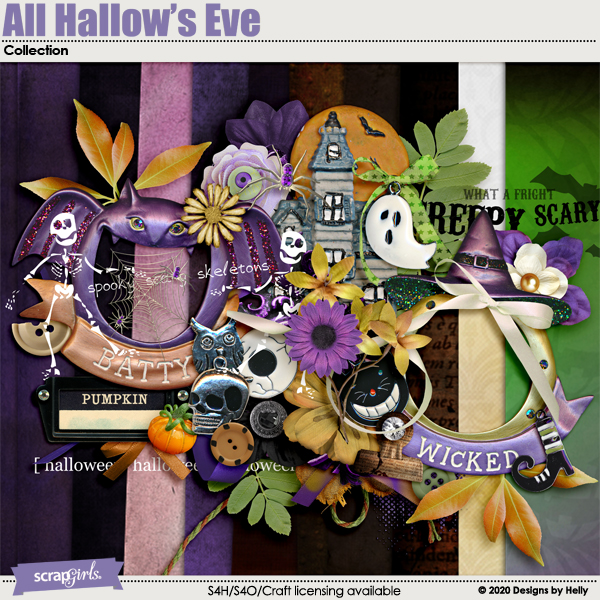 All Hallow's Eve Collection by Designs by Helly
