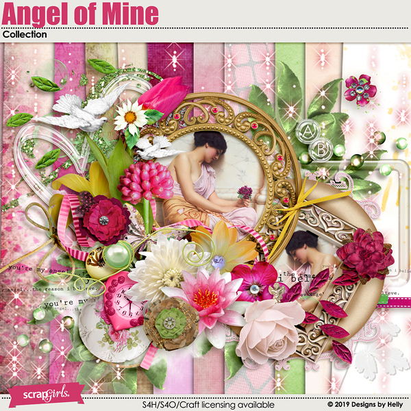 Angel of Mine Collection by Designs by Helly