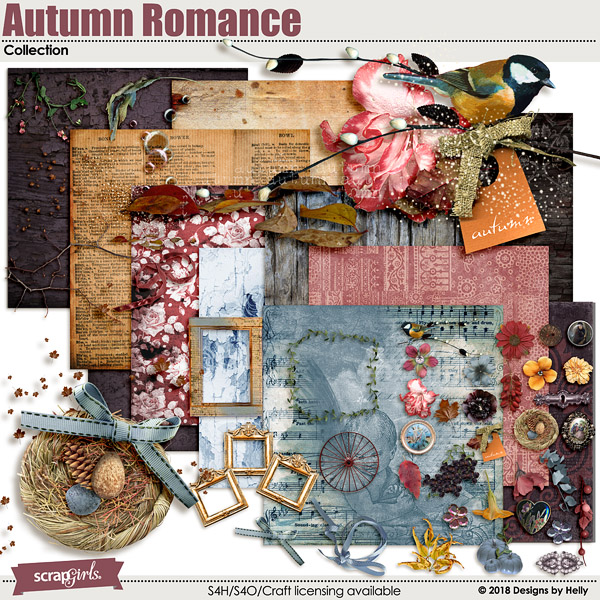 Autumn Romance Collection by Designs by Helly