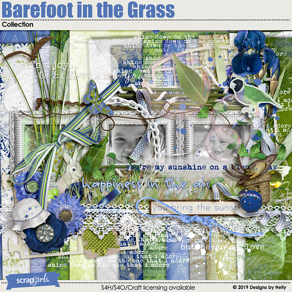 Barefoot in the Grass Collection by Designs by Helly