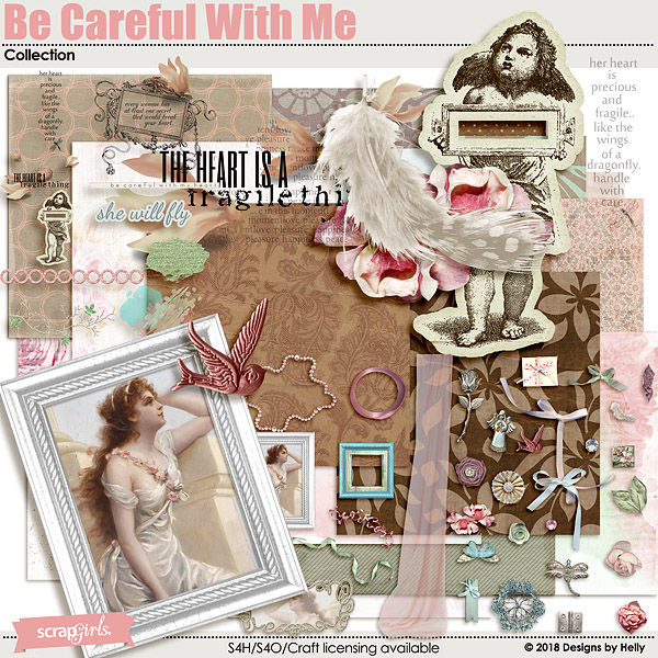 Be Careful With Me Collection by Designs by Helly