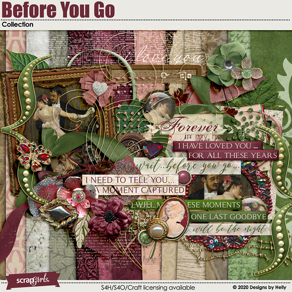Before You Go Collection by Designs by Helly