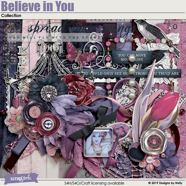 Believe in You Collection by Designs by Helly