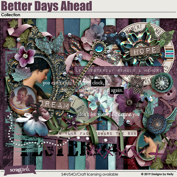 Better Days Ahead Collection by Designs by Helly