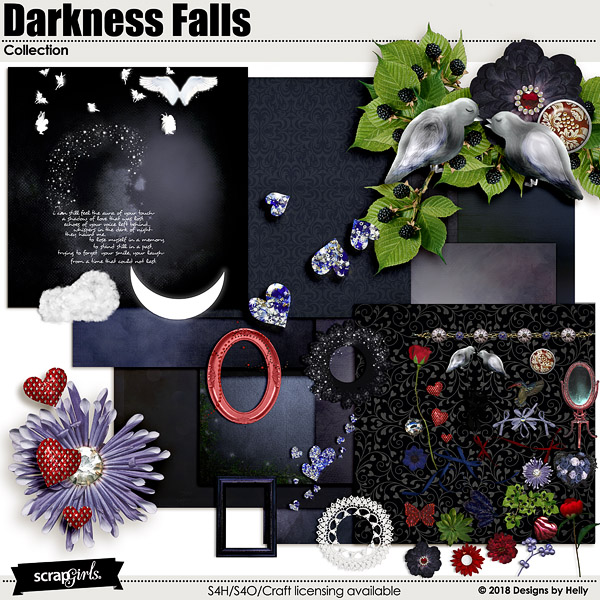 Darkness Falls Collection by Designs by Helly