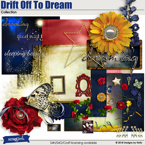 Drift Off To Dream Collection by Designs by Helly