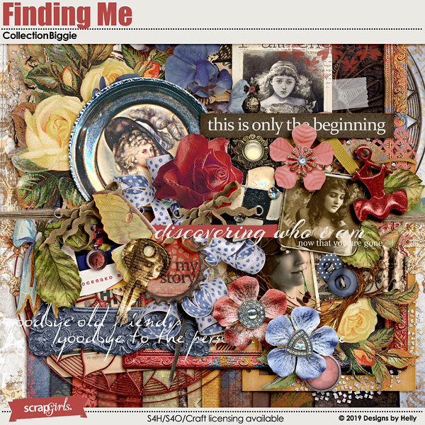 Finding Me Collection Biggie by Designs by Helly