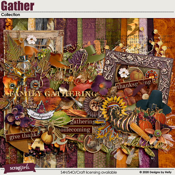 Gather Collection by Designs by Helly