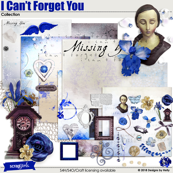 I Can't Forget You Collection by Designs by Helly