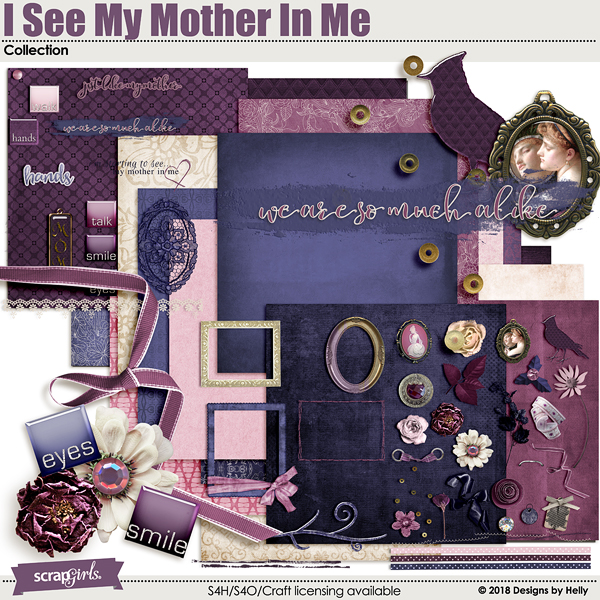 I See My Mother In Me Collection by Designs by Helly