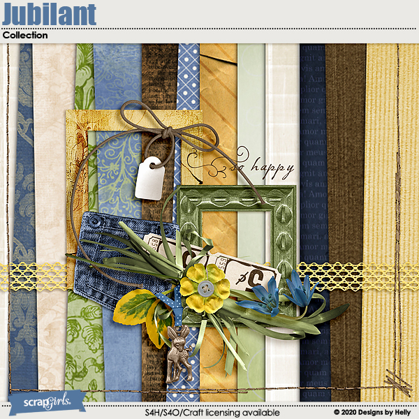 Jubilant Collection Mini by Designs by Helly
