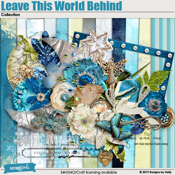 Leave This World Behind Collection by Designs by Helly