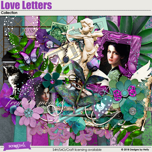 Love Letters Collection by Designs by Helly