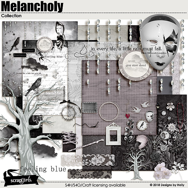 Melancholy Collection by Designs by Helly