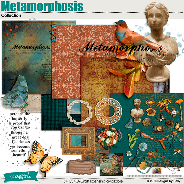 Metamorphosis Collection by Designs by Helly