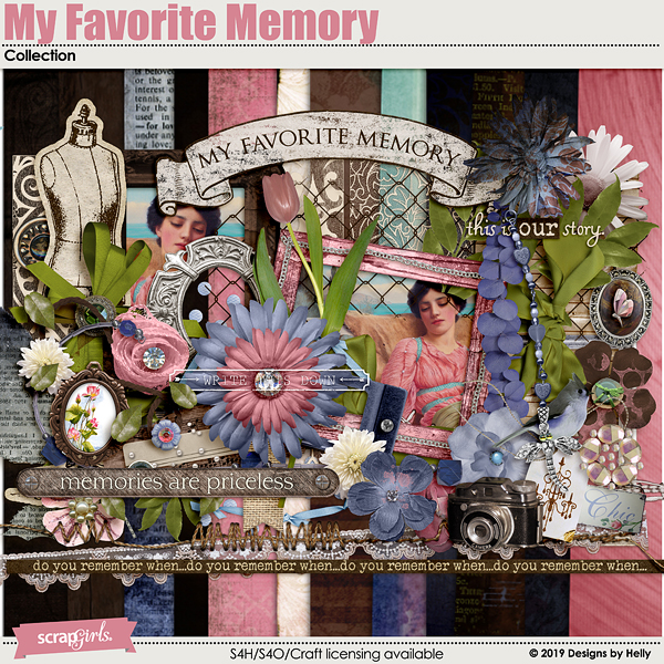 My Favorite Memory Collection by Designs by Helly