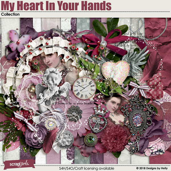 My Heart in Your Hands Collection by Designs by Helly