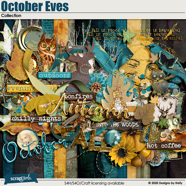 October Eves Collection Kit by Designs by Helly
