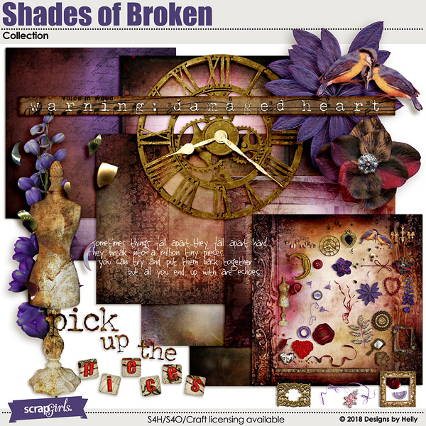 Shades of Broken by Designs by Helly