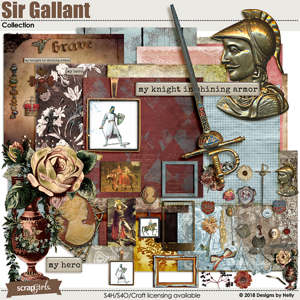 Sir Gallant Collection by Designs by Helly