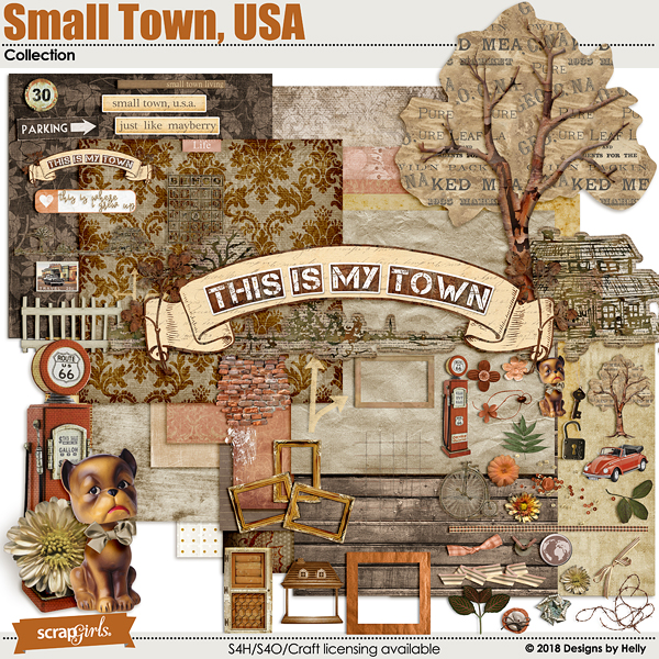Small Town, USA Collection by Designs by Helly