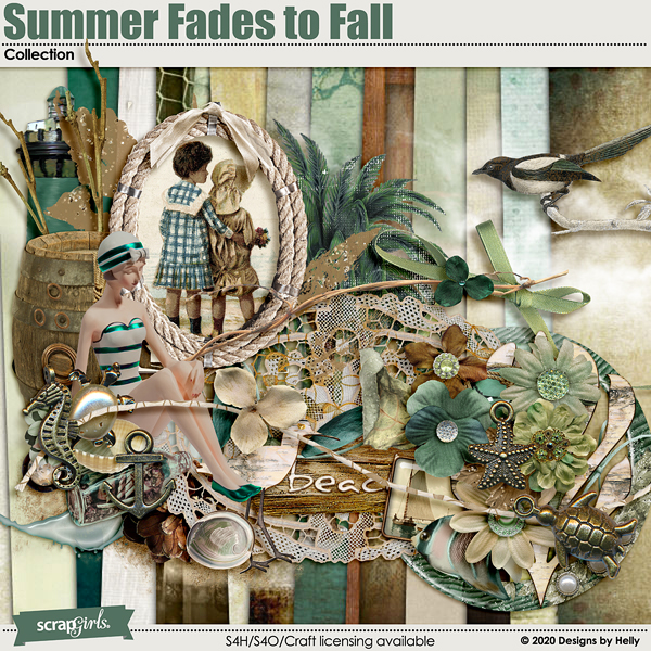 Summer Fades to Fall Collection by Designs by Helly