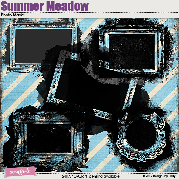 Summer Meadow Photo Masks by Designs by Helly