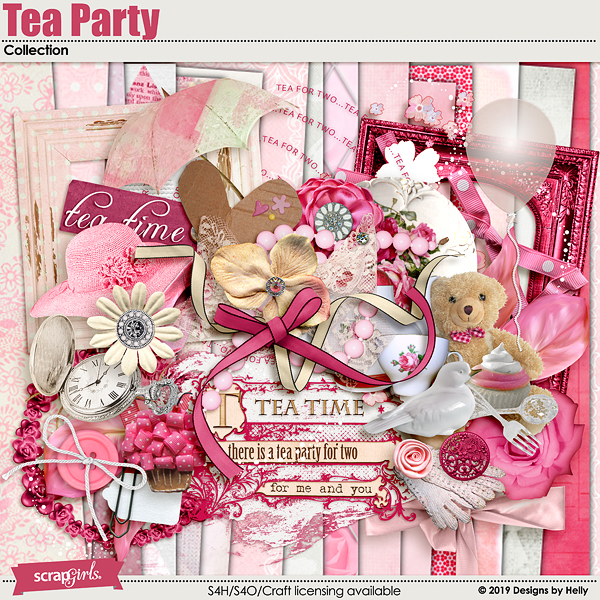 Tea Party by Designs by Helly