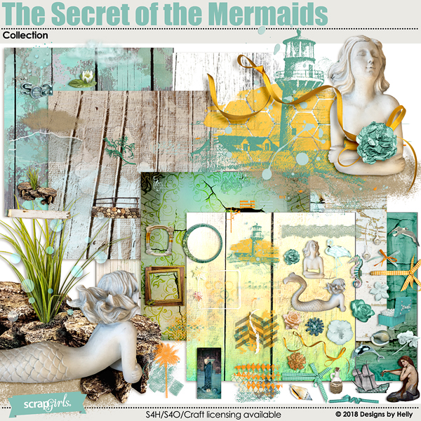 The Secret of the Mermaids Collection by Designs by Helly