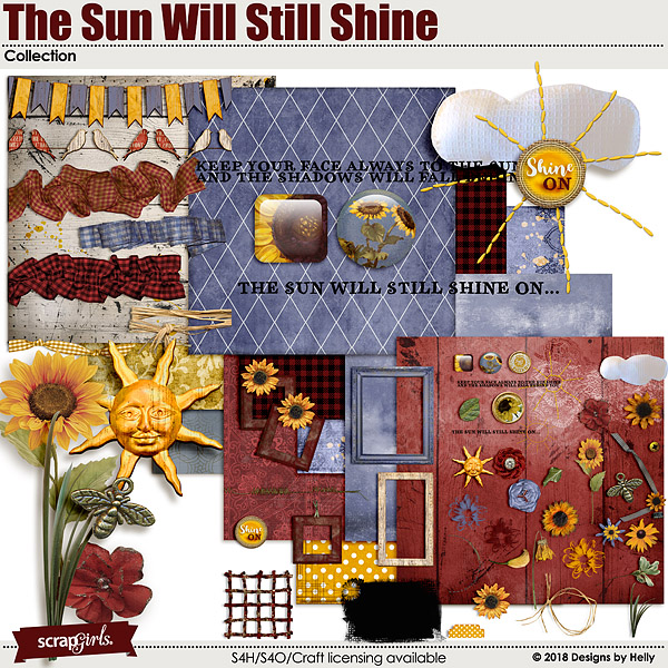 The Sun Will Still Shine by Designs by Helly