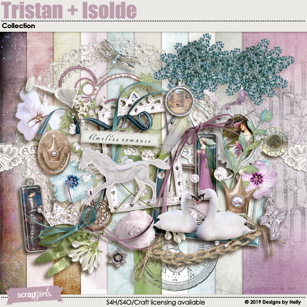 Tristan + Isolde Collection by Designs by Helly