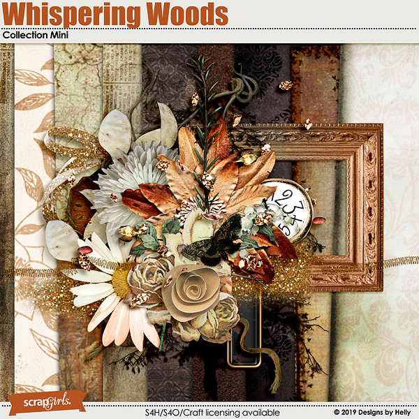 Whispering Woods Collection Mini by Designs by Helly