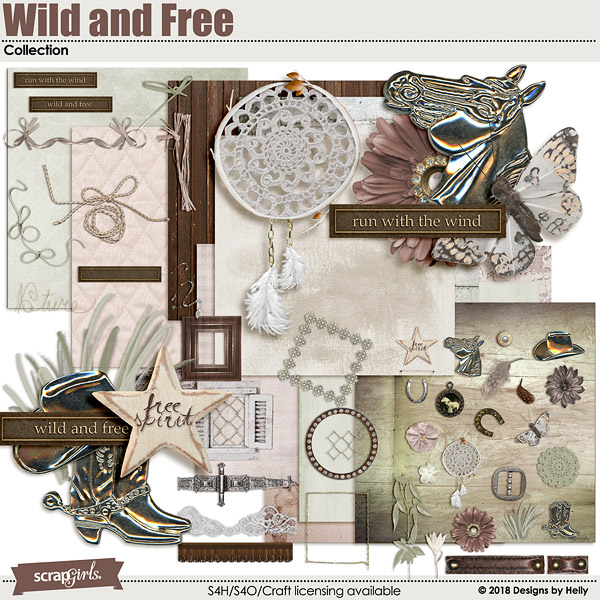 Wild and Free Collection by Designs by Helly