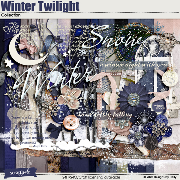 Winter Twilight Collection by Designs by Helly