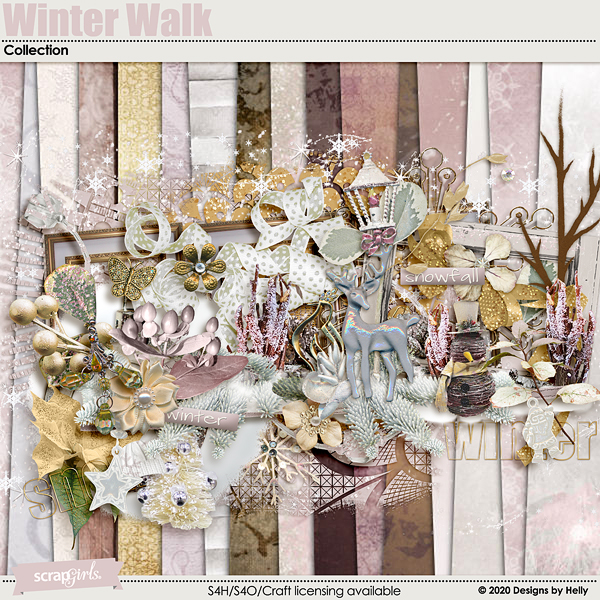 Winter Walk Collection by Designs by Helly