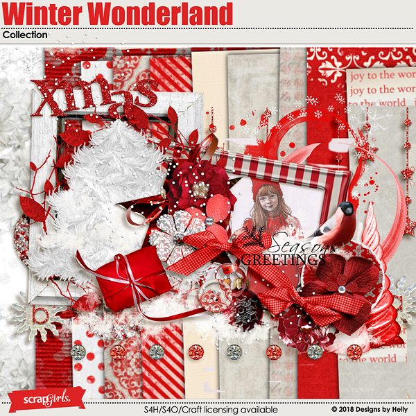 Winter Wonderland Collection by Designs by Helly