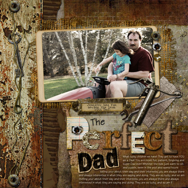 The Perfect Dad by Doris Castle