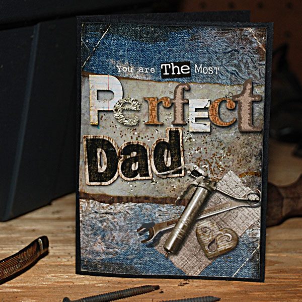You Are the Most Perfect Dad Card by Doris Castle