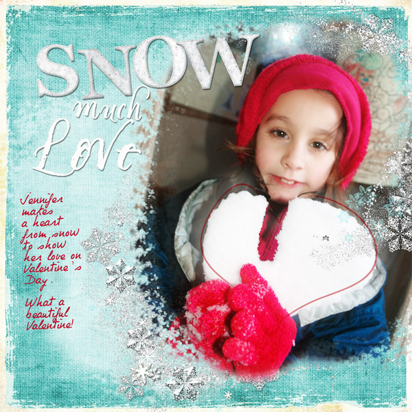 """Snow Much Love"" by Doris Castle"