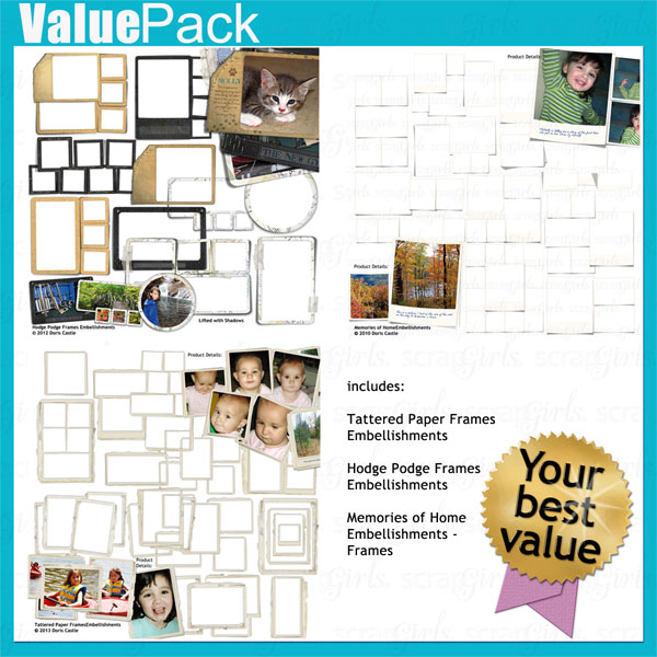 Value Pack: Fab Frames