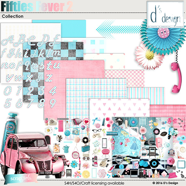 fifties fever 2 collection by d's design