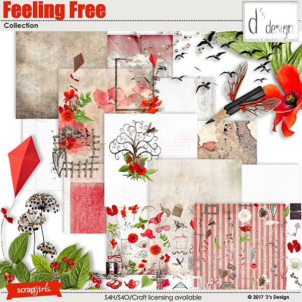 feeling free collection by d's design